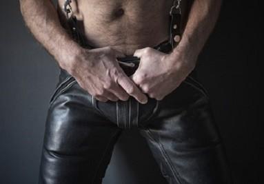 Collection BDSM Homme vêtement et lingerie vinyle cuir simili cuir et latex